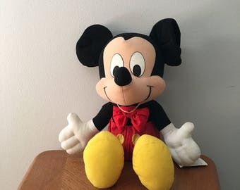 Vintage 1980's 22' Mickey Mouse stuffed animal from Arco Toys/Mattel with tags