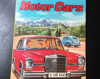 Toppan's Picture Book of Motor Cars. Artwork by Hitoshi Umemoto.