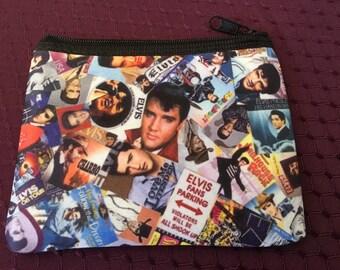Elvis Zipper Wallet