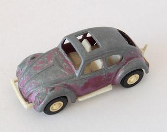 Vintage Purple Tootsie Toy Volkswagen Beetle die cast toy