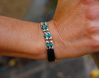 Womens Leather Bracelet | The Cherokee