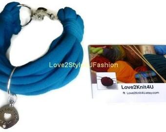 Women Bracelet, Arm Candy, Jewelry, Boho Wide Stacking Cuff, Bracelet for Women, Charm Bracelet, Girlfriend Gift, Stacking Bracelet, Blue