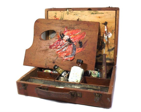 Vintage French Artists Box by LeFranc