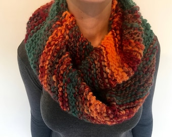 Hand Knitted Wool Cowl