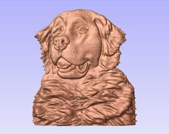 Bernese Mountain Dog, 3D .stl file