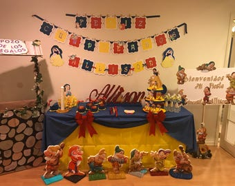 Snow White Birthday Banner and more...