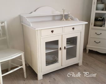 Antique dresser, founding time, chalk colors, shabby chic
