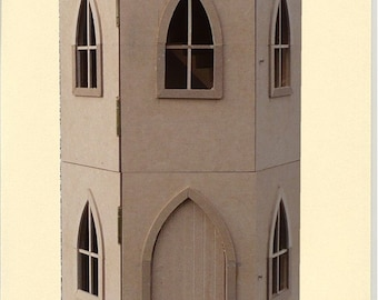Castle Keep House dollhouse kit 1/12 scale new