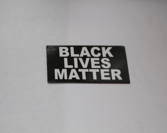 Black Lives Matter Card Magnet