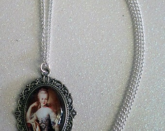 Marie Antoinette Inspired Cameo Necklace