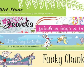 Custom Branding Shop Icon Cover Photo Avatar Etsy Banner