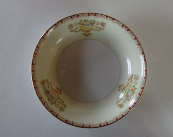 """Meito China 5 1/4"""" Berry/Dessert Bowl HAND PAINTED Made in Japan"""