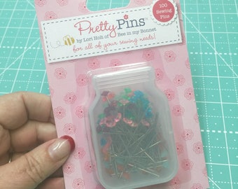 Pretty Pins - Sewing - by Lori Holt of Bee in my Bonnet