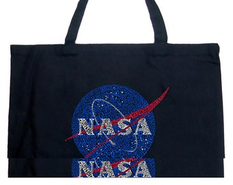 Large Tote Bag - Created out of NASA's Most Notable Missions