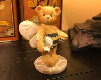 "Vintage 1995 Cherished Teddy Bea ""Bee My Friend."""