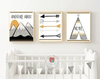 Personalized Geometric Print, Custom Nursery Art, Geometric Prints, Kid Room Art, Custom Name Print, Modern Name Art, Newborn Baby Gift, Art