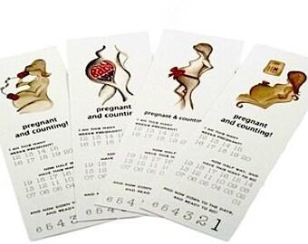 Pregnancy Baby Due Date Calendar Bookmark