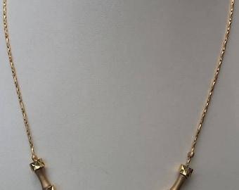 Vintage ANNE KLEIN Gold tone Necklace