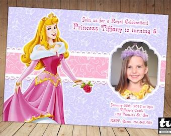 Princess Aurora Invitation