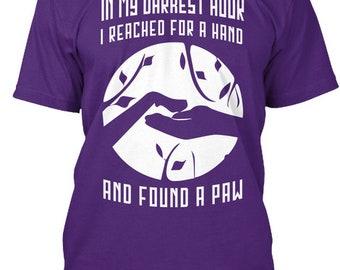 Paw Friendship   Hanes Tagless Tee Tshirt