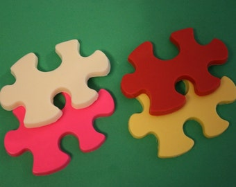 20 Chocolate PUZZLE Piece Party Favors - Autism awareness