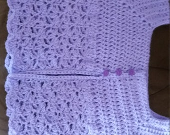Hand made girls cardigan