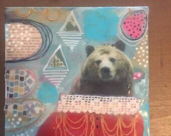 Fancy Bear, Original Art