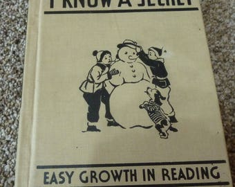 vintage I Know A Secret   Easy Growth in  reading