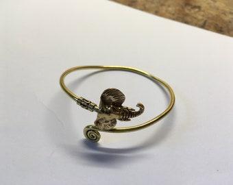 Brass Elephant bracelet