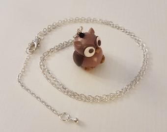 Owl Necklace/Pendant