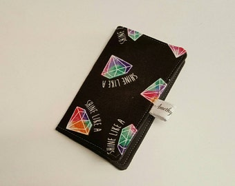 Slim Wallet • Credit Card Holder • Card Holder • Business Card Holder! Shine Like A Diamond Black! *R2S!*