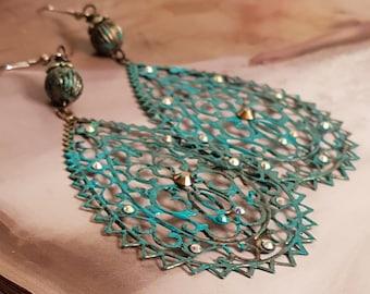 Gypsy Filigree Earrings