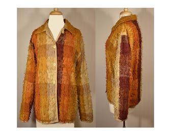 Women's vintage coat, ethnic coat, India coat, boho jacket, hippie jacket, patchwork jacket, embroidered coat, women's jacket ethnic jacket