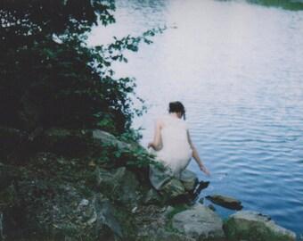 Postcard 'Blue Lake'