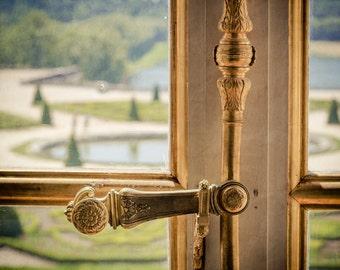 Versailles fotografieren - Fotografie Paris - Versailles Fenster - Vintage, weich, Retro - Schloss Versailles - Spiegelsaal