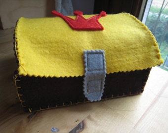 Pirate treasure BOX-handmade