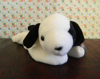 "TY Black And White Dog ""Spot"" (B)"