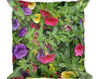 Spring Flowers - Square Pillow