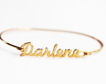 Darlene Name Bracelet
