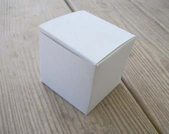 Large Printable Cube Box Template All Occasion Favor Box PDF PNG and JPg