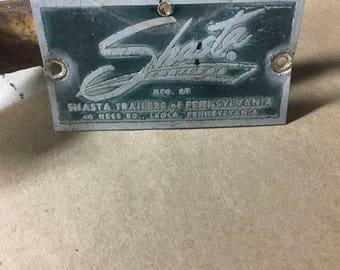 Vintage Shasta emblem