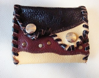 leather wallet, purse