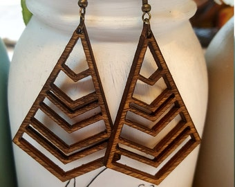 Birch Jewel Earrings - 1 pair