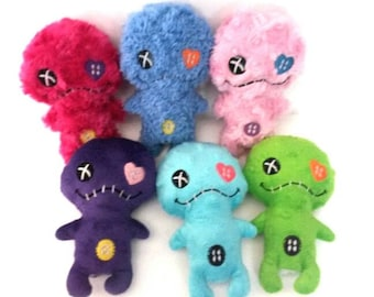 Lil Zombie Monster Plushies