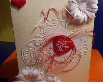 Love Valentine  Card,  Valentine Day Card,   love Card