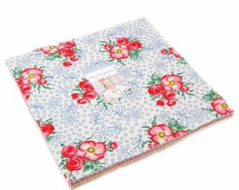SPRING SALE - Merry Go Round - Layer Cake - American Jane - Moda Fabrics