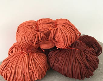 Macrame cord, Polyester rope, Crochet rope,  Rope cord, Macrame rope, Craft cord, Crochet cord