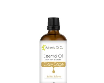 Clary Sage Essential Oil 100% Pure 10ml 50ml 100ml