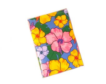 Passport Cover - tropical floral - passport holder - hibiscus - travel gift - Beach vacation