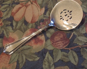 Silver Plated Tomato Server  Simeon And George Rogers Heavy Silver Plate 1913